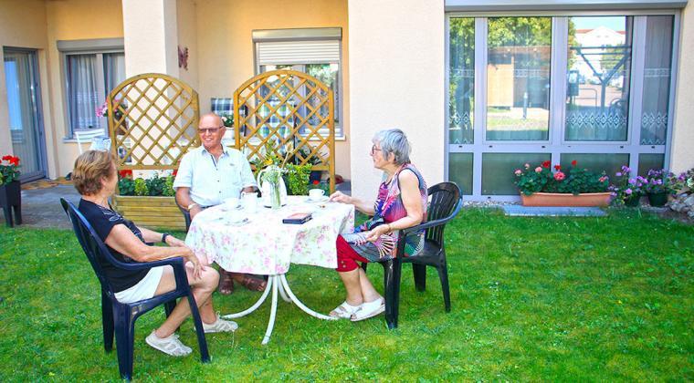Neustrelitz Betreutes Wohnen Senioren Diakonie MSE Pflege Menschen im Alter